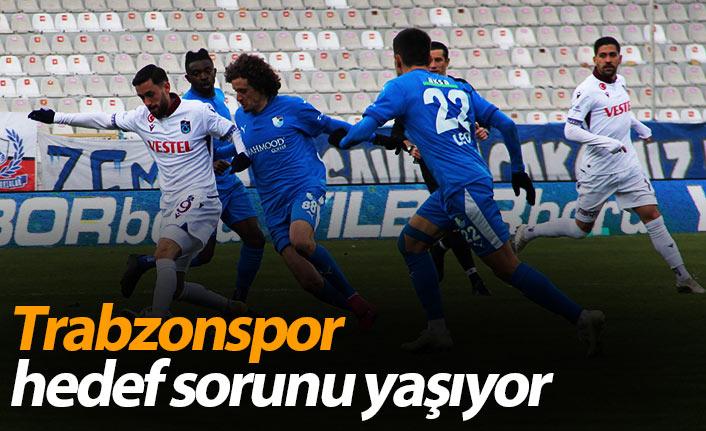 Trabzonspor hedef sorunu yaşıyor