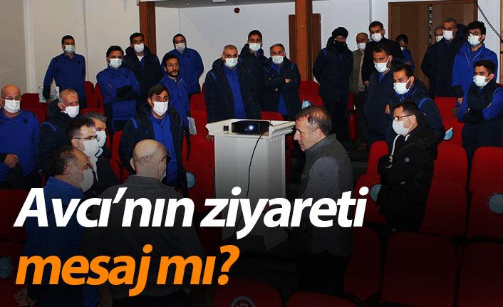 Trabzonspor'da Avcı'nın ziyareti mesaj mı?