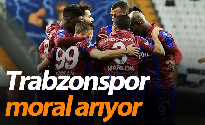 Trabzonspor moral arıyor